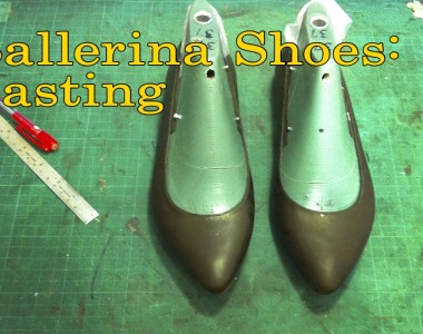 Ballerina Shoes: Lasting -006