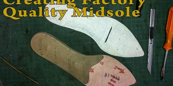 Creating Factory Quality Midsole: Part 1