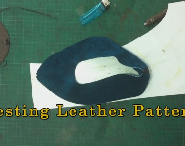 Testing Leather Pattern or Must Do Operation to Avoid Future Mistakes- Ballerina 003