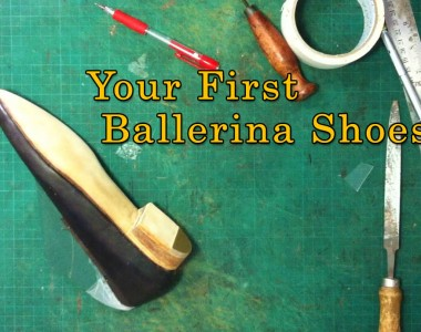 Your first ballerina shoes- 008