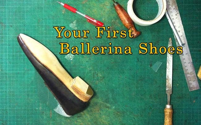 Your first ballerina shoes
