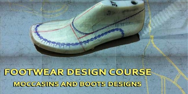Footwear design course: Moccasins and women boots designs – 007