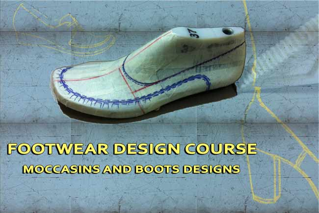 Footwear-design-course-Moccasins-and-women-boots-designs