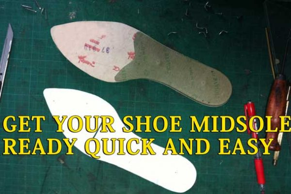 Get your shoe midsole ready quick and easy