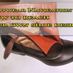 How to reach your own shoe design