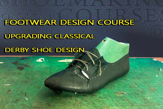 Footwear-design-course-Upgrading-classical-derby-design