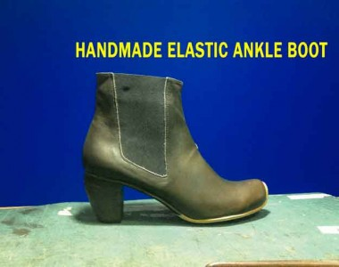 Ankle boot course Vol.8 Elastic Boots: Handmade elastic ankle boot
