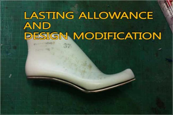 Solutions: Lasting allowance and design modification