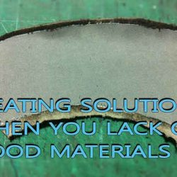 Creating solutions when you lack of good materials