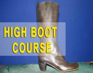High boot course: You made your first boots 014
