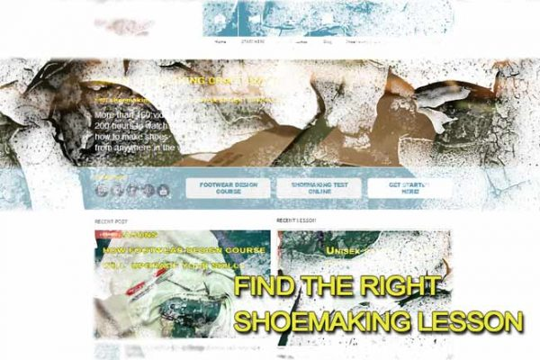 Find the right shoemaking lesson
