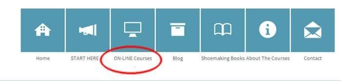 online-courses menu