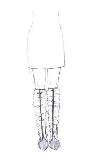 Knee boots to make