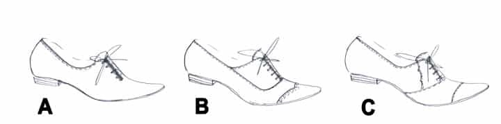 Oxford shoes styles