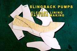 Slingback-pump-shoes-Elegant-lining-pattern-making