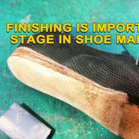 Oxford women shoes: Finishing is important stage in shoe making 12