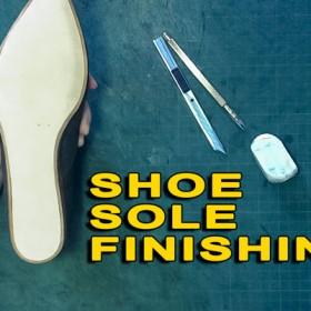 Oxford shoes: Shoe sole finishing 14