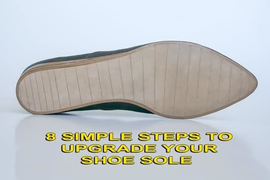 8 simple steps to upgrade your shoe sole using utility knife