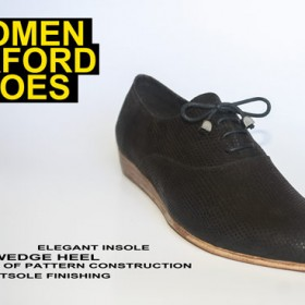 Oxford women shoes:Full online shoe making course 15