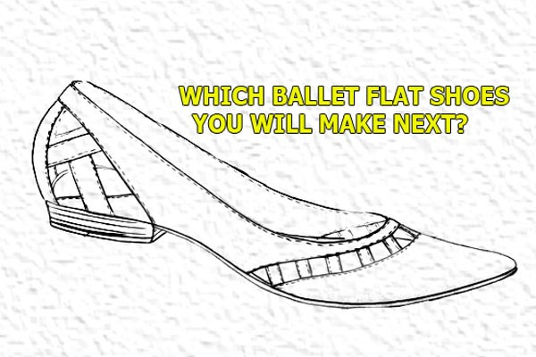 Which Ballet flat shoes you will make next?