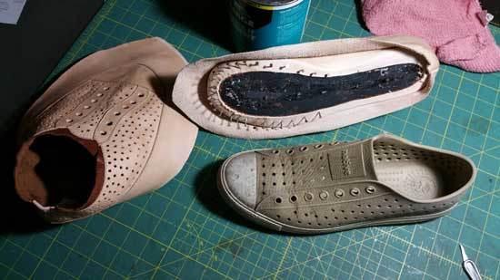Help me make my shoes Pete-Julian