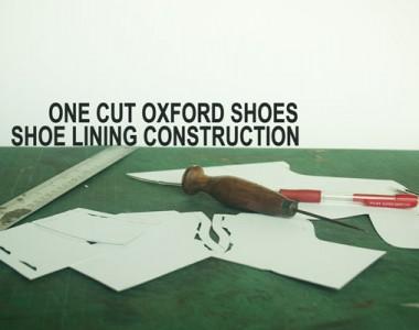 Shoe lining construction
