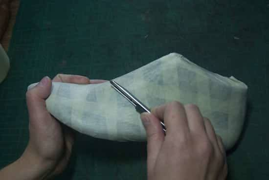 Folds-flattening