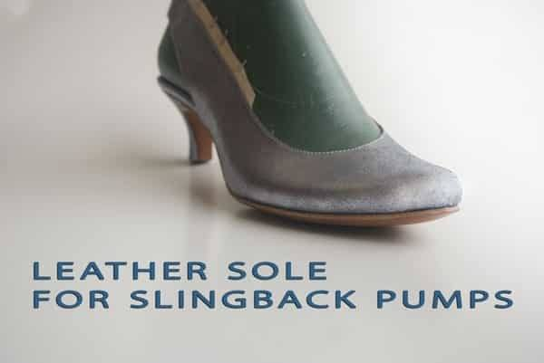 Leather-sole-for-slingback-pumps