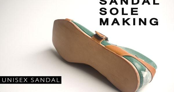 Sandal sole making: Unisex sandal course 12