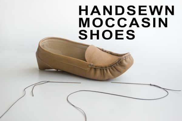 Handsewn-moccasin-shoes