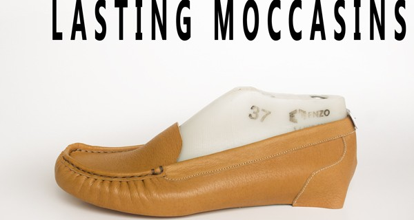 Lasting Moccasin shoes: How to make moccasins 16