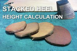 Stacked-heel-height-calculation