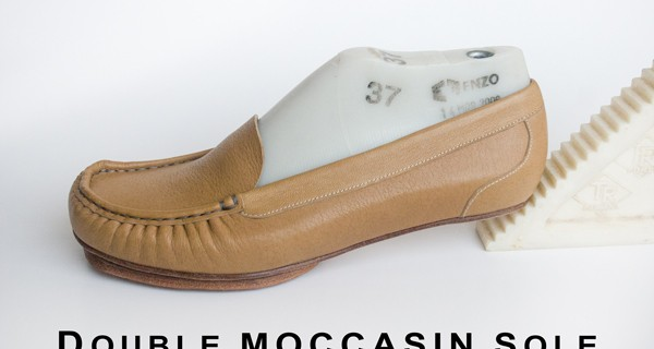 Double moccasin sole 022