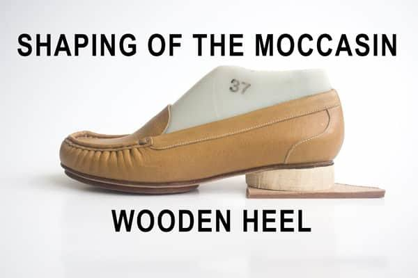 Shaping-of-the-moccasin-wooden-heel