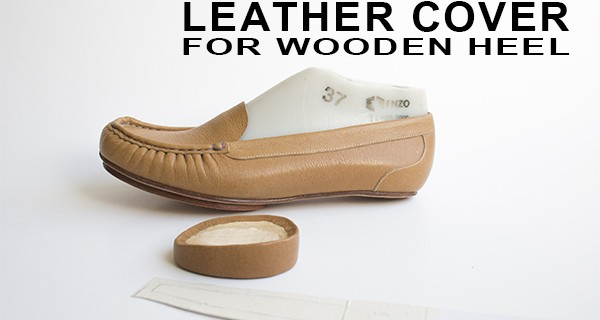 Leather Cover for Wooden Heel: How to make moccasins 29