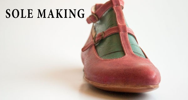 Sole making: T strap pump shoes course 16