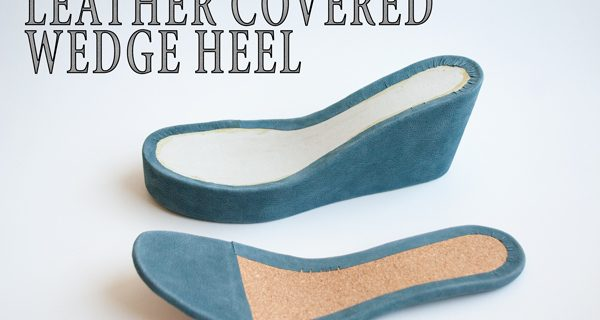 Leather Covered Wedge Heel : How to make cork wedge mule sandals 21