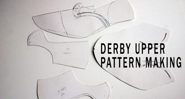 Derby Upper Pattern Making: Bespoke Derby Handsewn Opanka Shoes Course 16