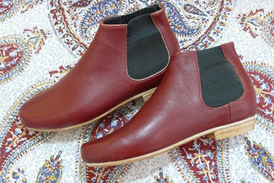 ankle-boots made by hand