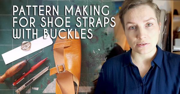 pattern making tools and cardboard and shoemaker Sveta Kletina
