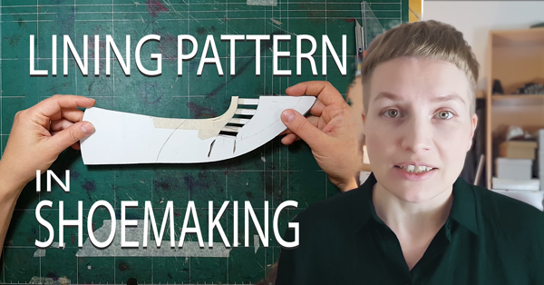 lining pattern ready in hand