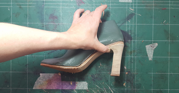 perfect fitting heel