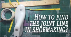 How to find the join line in shoemaking