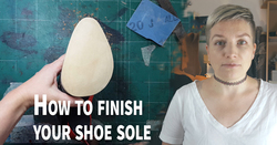 finish shoe sole