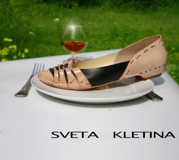 shoe hand made by Sveta Kletina