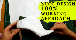 Shoe designing through pattern making