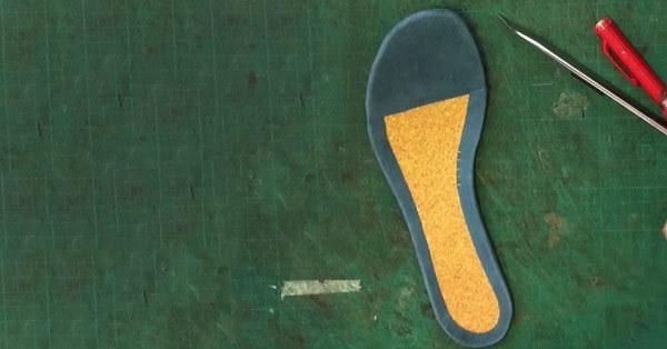 insole cork sandals