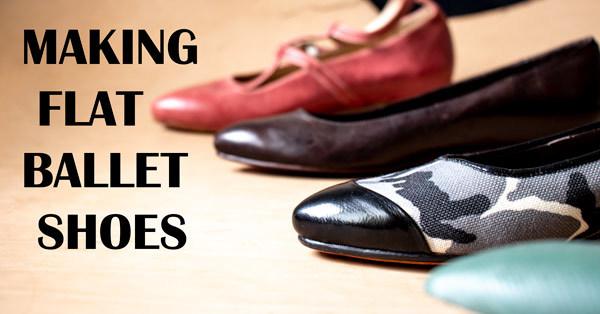 making flat ballet shoes