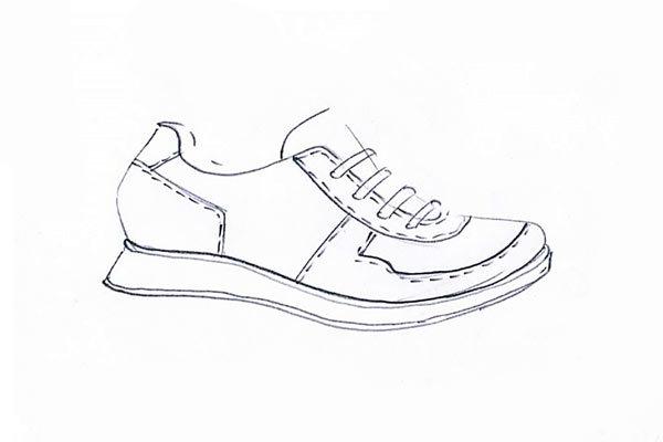 sneakers sketch 04