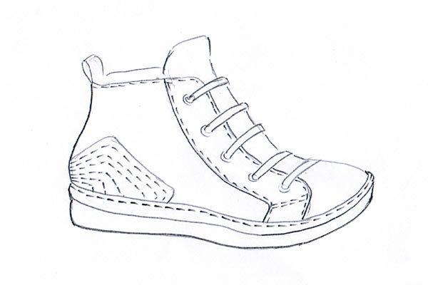 sneakers sketch 05